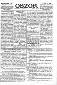 Obzor 2.6.1914.