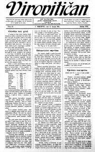 Virovitičan 11.6.1914.