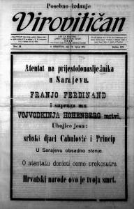 Virovitičan 29.6.1914.
