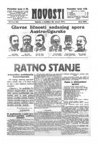 Novosti 26.7.1914.