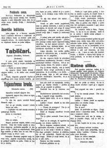 Mali list 8.11.1914.