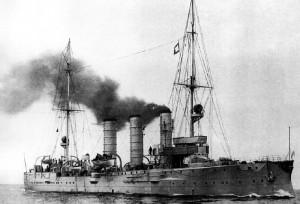 Augsburg_cruiser_in_1909-02