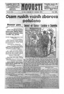Novosti 27.8.1914.