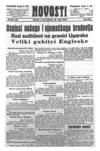 Novosti 28.9.1914.