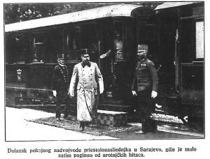 Dolazak u Sarajevo