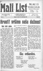 Mali list 10.11.1914.
