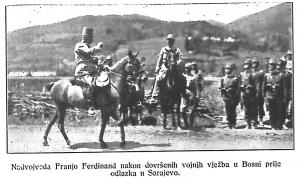 Pred odlazak u Sarajevo