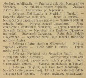 Ilustrovani list_1914-08-29_Ratni koledar_2