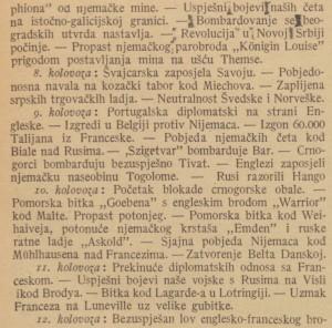Ilustrovani list_1914-08-29_Ratni koledar_3