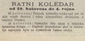 Ilustrovani list_1914-09-12_Ratni koledar_9