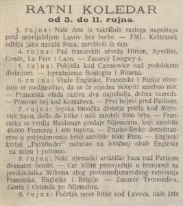 Ilustrovani list_1914-09-19_Ratni koledar_7