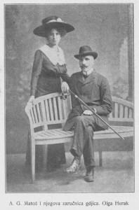 A. G. Matoš i Olga Herak