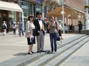 Književna šetnica s Matošem u Gornjem gradu - Branka Mustapić
